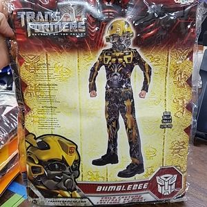Halloween Costume Bumblebee Transformers Large